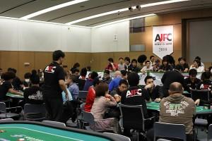 AJPC2010 東京予選会場内